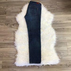 AG Straight Leg Medium Wash Jeans Sz 29R